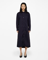 Marni Ruched Cotton Shirtdress