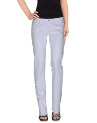 Camouflage Ar And J. Denim Denim Trousers Women Blue