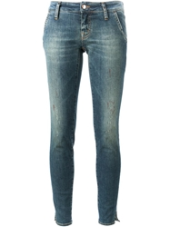 People Skinny Jeans Blue