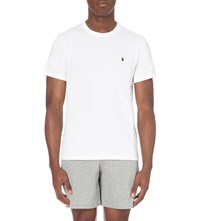 Ralph Lauren Crewneck Cotton T Shirt White