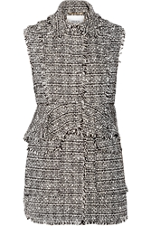 Erdem Dorina Convertible Cotton Blend Tweed Vest
