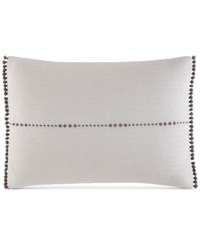 Ed Ellen Degeneres Greystone Breakfast 12 X 16 Decorative Pillow Bedding White