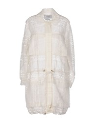 Erdem Coats And Jackets Full Length Jackets Women White