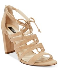 Alfani Prima Women's Jaqui Gladiator Sandals Only At Macy's Women's Shoes Wheat