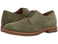 Aquatalia By Marvin K Collin Hunter Green Dress Suede Men's Lace Up Casual Shoes Olive