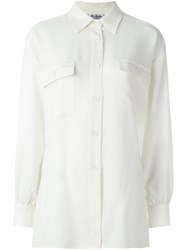 Yves Saint Laurent Vintage Classic Shirt White