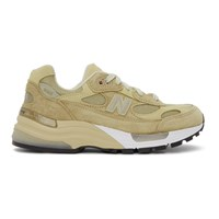 New Balance Beige Made In Us 992Tn Sneakers