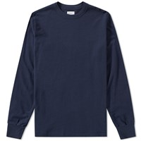 Les Basics Le Long Sleeve Tee Blue