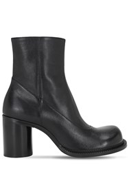 Maison Martin Margiela 80Mm Maby Leather Boots Black