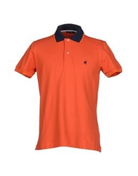 Husky Polo Shirts Orange