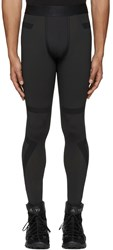 Y 3 Sport Black Techfit Long Tights