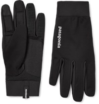 Patagonia Wind Hield Tretch Jerey Glove Black