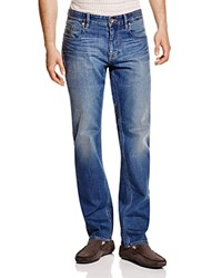 Robert Graham Double Up Straight Fit Jeans In Indigo