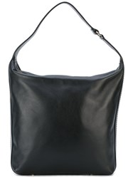 Lanvin Chaine By Hobo Bag Women Cotton Calf Leather Brass One Size Black