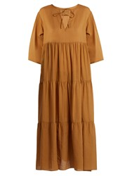 Loup Charmant Tripoli Cotton Dress Camel