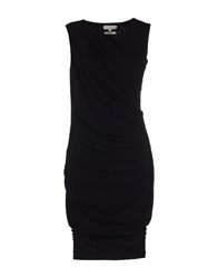 Essentiel Knee Length Dresses Black