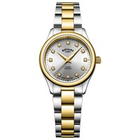 Rotary Lb05093 44 D 'S Oxford Diamond Bracelet Strap Watch Multi