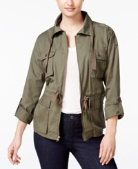 Bar Iii Field Jacket Only At Macy's Dusty Olive