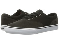Emerica The Provost Slim Vulc Grey Black Men's Skate Shoes Gray