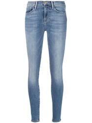 Frame Queen Jeans Blue