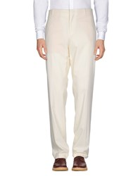 Jean Paul Gaultier Casual Pants Ivory