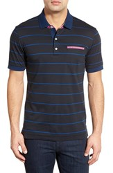Men's Robert Graham Stripe Polo