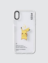 Casetify Pikachu 025 Pokedex Day Iphone Xs Max Case Clear