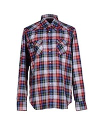 Hydrogen Shirts Shirts Men Red