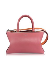 Emilio Pucci Pink Smooth Leather Satchel Bag