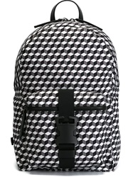 Christopher Kane Safety Buckle Backpack Grey