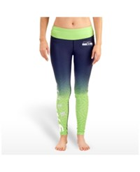 Forever Collectibles Women's Seattle Seahawks Ombre Leggings Navy