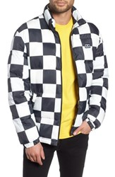 Obey Bouncer Check Puffer Jacket Checker
