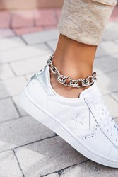 Free People Womens Chain Link Metal Anklet