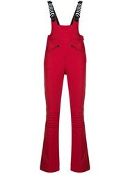 Perfect Moment Gt Racing Dungarees Red