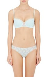 Heidi Klum Women's Mon Coeur Balconette Bra Light Blue