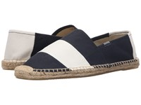 Soludos Original Stripe Barca Navy White Men's Shoes