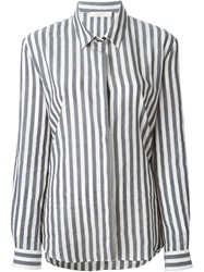 Sessun 'Agnes' Striped Shirt Grey