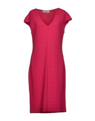 Thomas Rath Knee Length Dresses Fuchsia