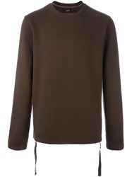 Blood Brother 'Utopia' Sweatshirt Brown