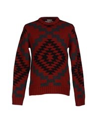 Cycle Sweaters Brick Red