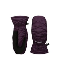 Columbia Mighty Lite Mitten Purple Dahlia Extreme Cold Weather Gloves