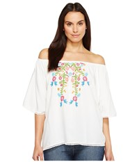 Ariat Frida Top White Women's Clothing
