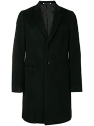 Paul Smith Ps By Single Breasted Coat Black
