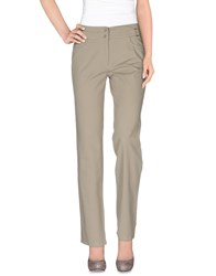 Diana Gallesi Trousers Casual Trousers Women Light Grey