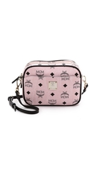 Mcm Camera Cross Body Bag Chalk Pink