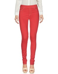 Liviana Conti Casual Pants Red