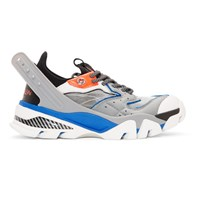 Calvin Klein 205W39nyc Grey And Blue Carla 10 Sneakers