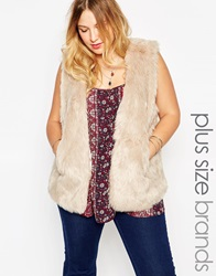 New Look Inspire Faux Fur Gilet