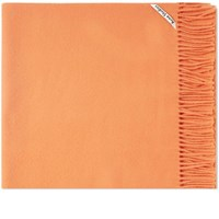 Acne Studios Canada New Scarf Orange