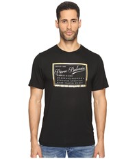 Balmain Screenprint T Shirt Black